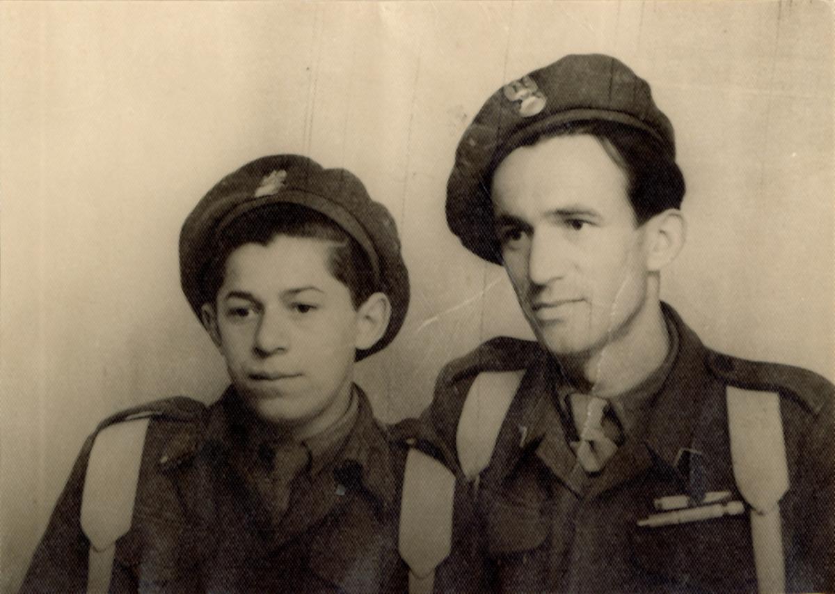 Włodzimierz Dembiński - żołnierz 3. Dywizji Strzelców Karpackich