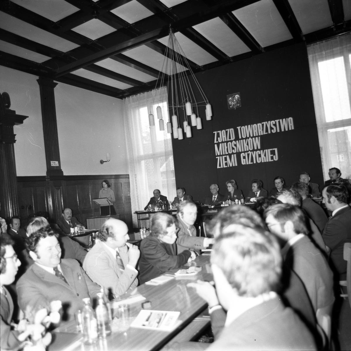 Zjazd Towarzystwa Miłośników Ziemi Giżyckiej, 1976 r. [1]
