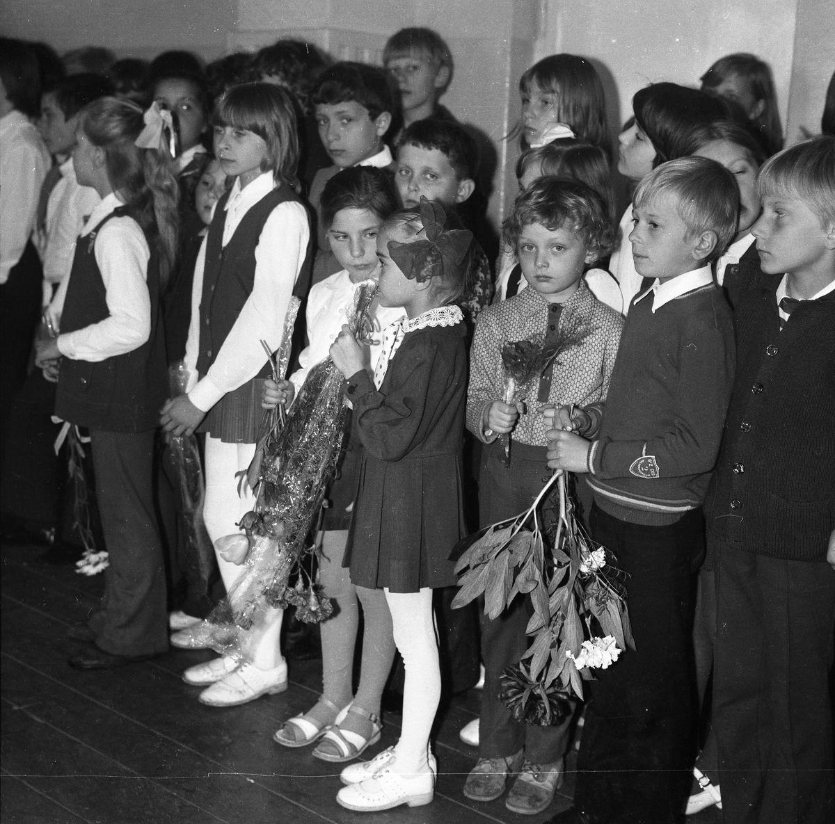 Zakończenie roku szkolnego 1973/1974 w SP2