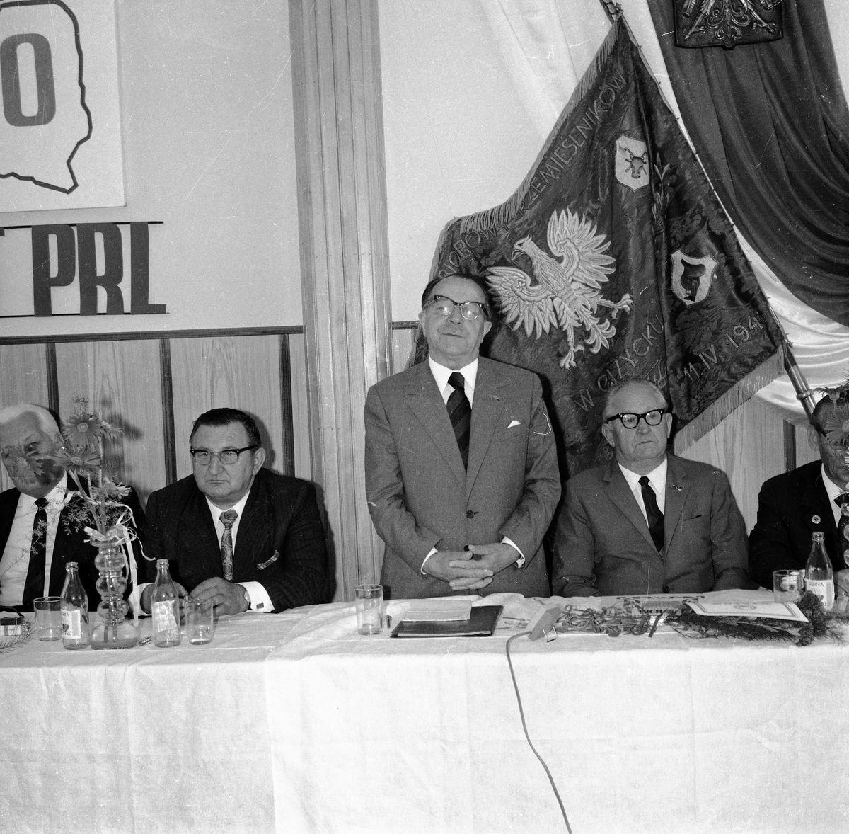 Spotkanie z okazji 30-lecia PRL, 1974 r.