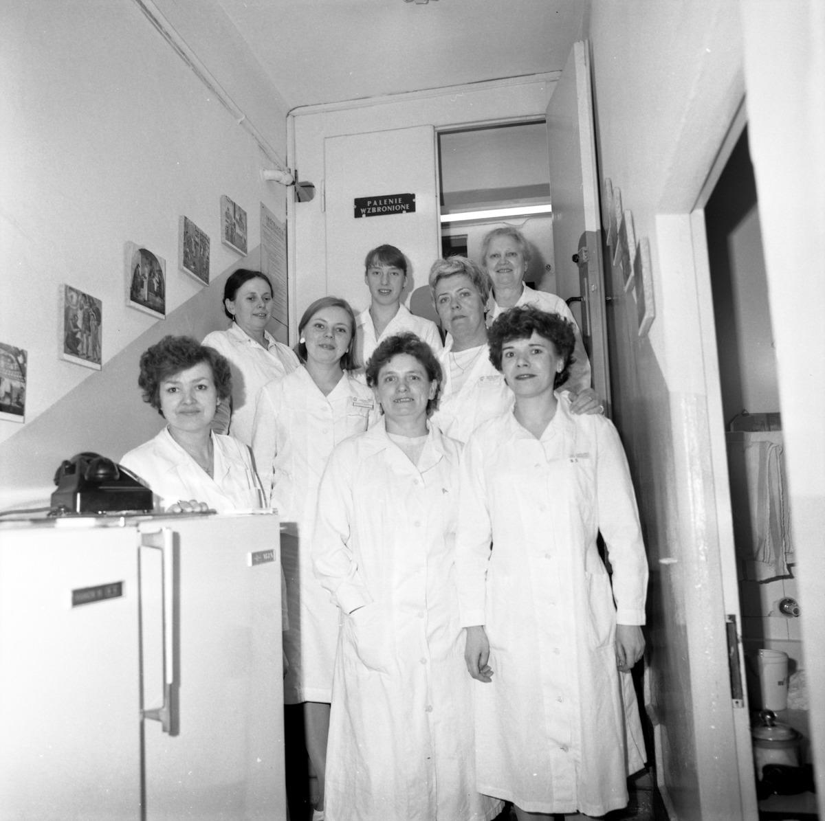 Dzień Służby Zdrowia w szpitalu ZOZ, 1986 r. [6]