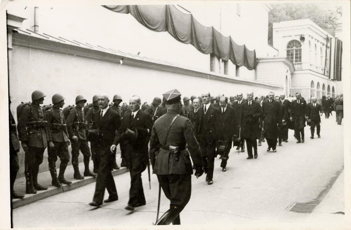 Pogrzeb serca Józefa Piłsudskiego w Wilnie [8]