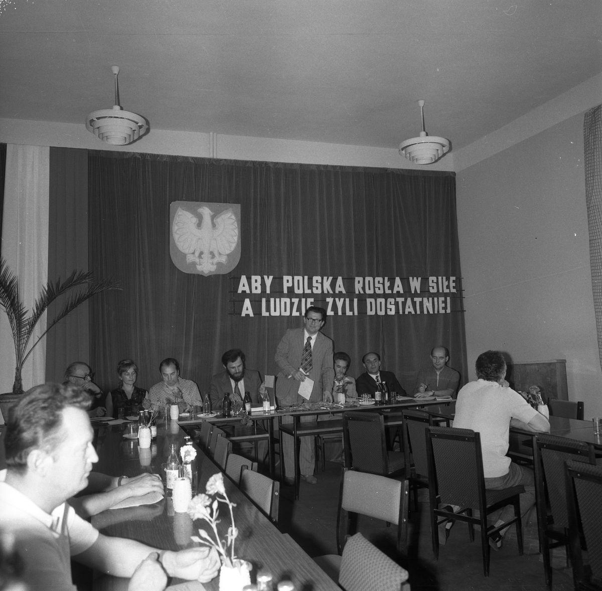 Uroczysta Sesja Miejskiej Rady Narodowej, 1975 r. [8]