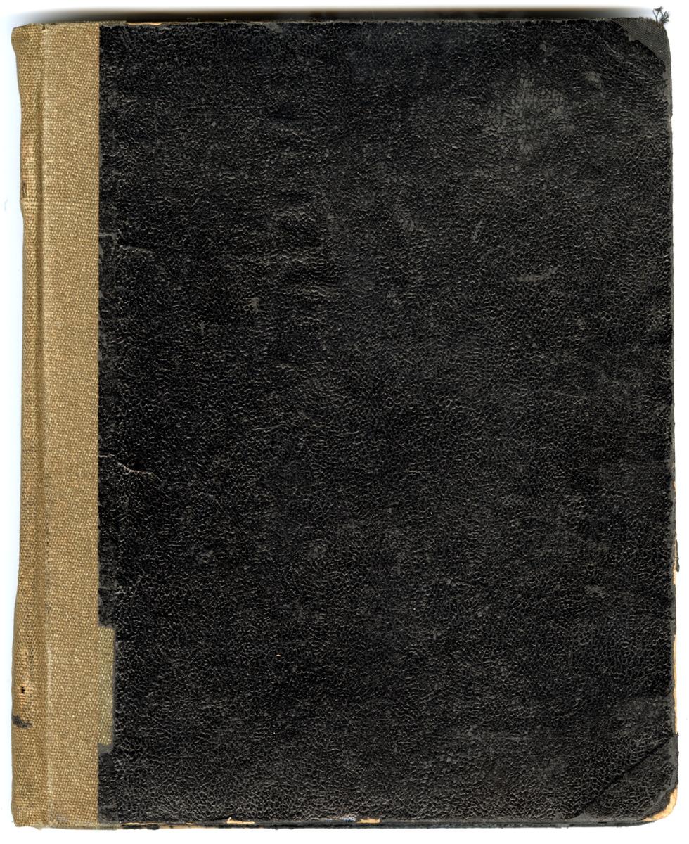 Książka rachunkowa L. i W. Perepeczko od 1 stycznia 1953 do 30 grudnia 1954