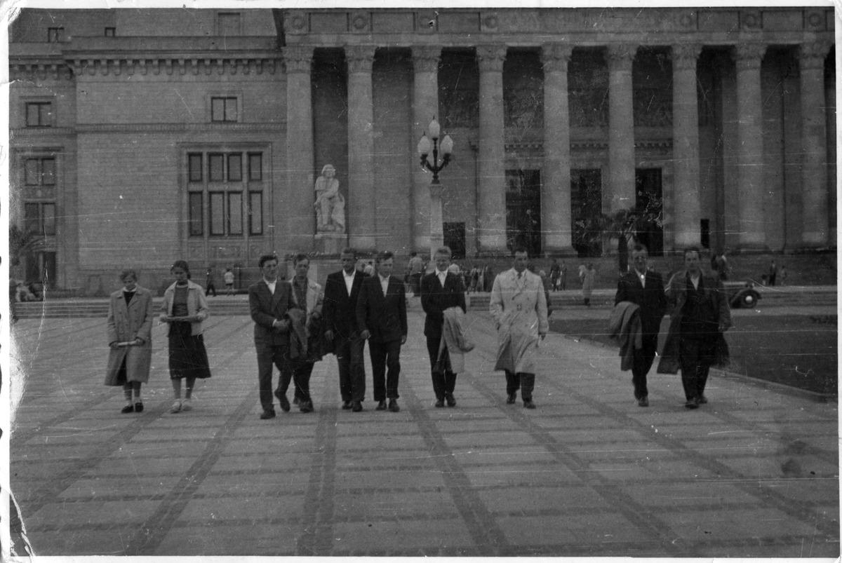 Wycieczka do Warszawy, czerwiec 1958 r.