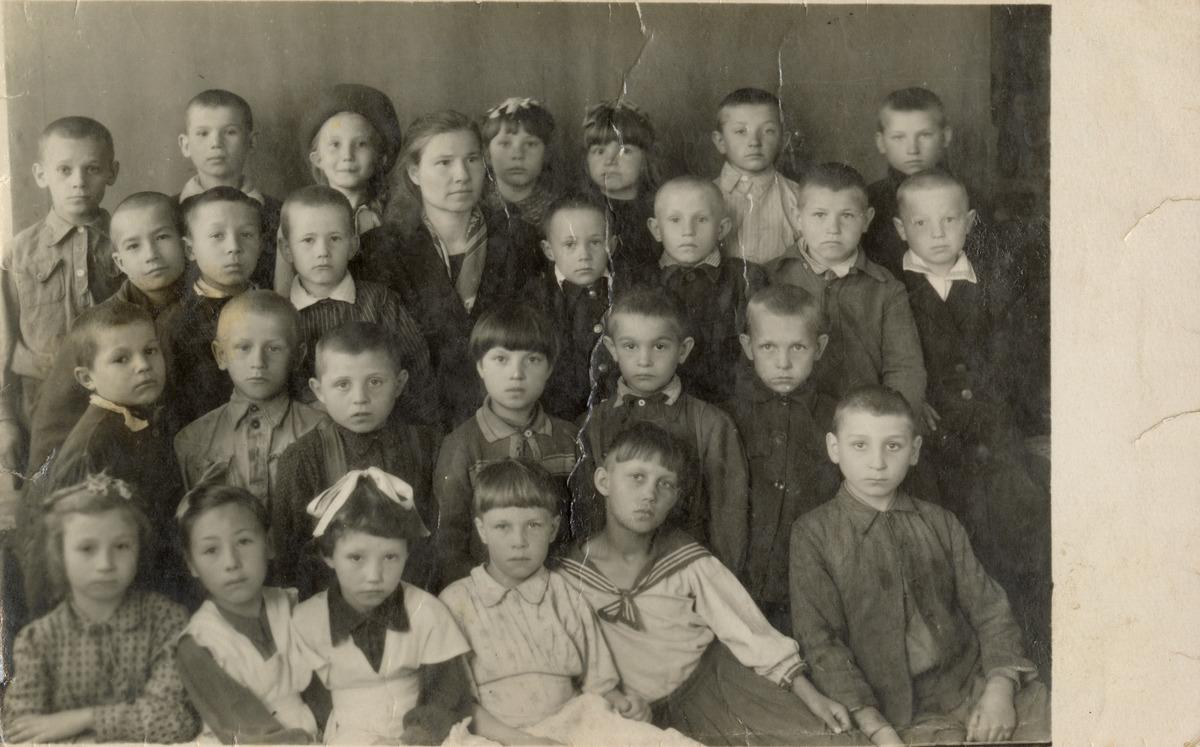Szkoła w Makarewie na Syberii