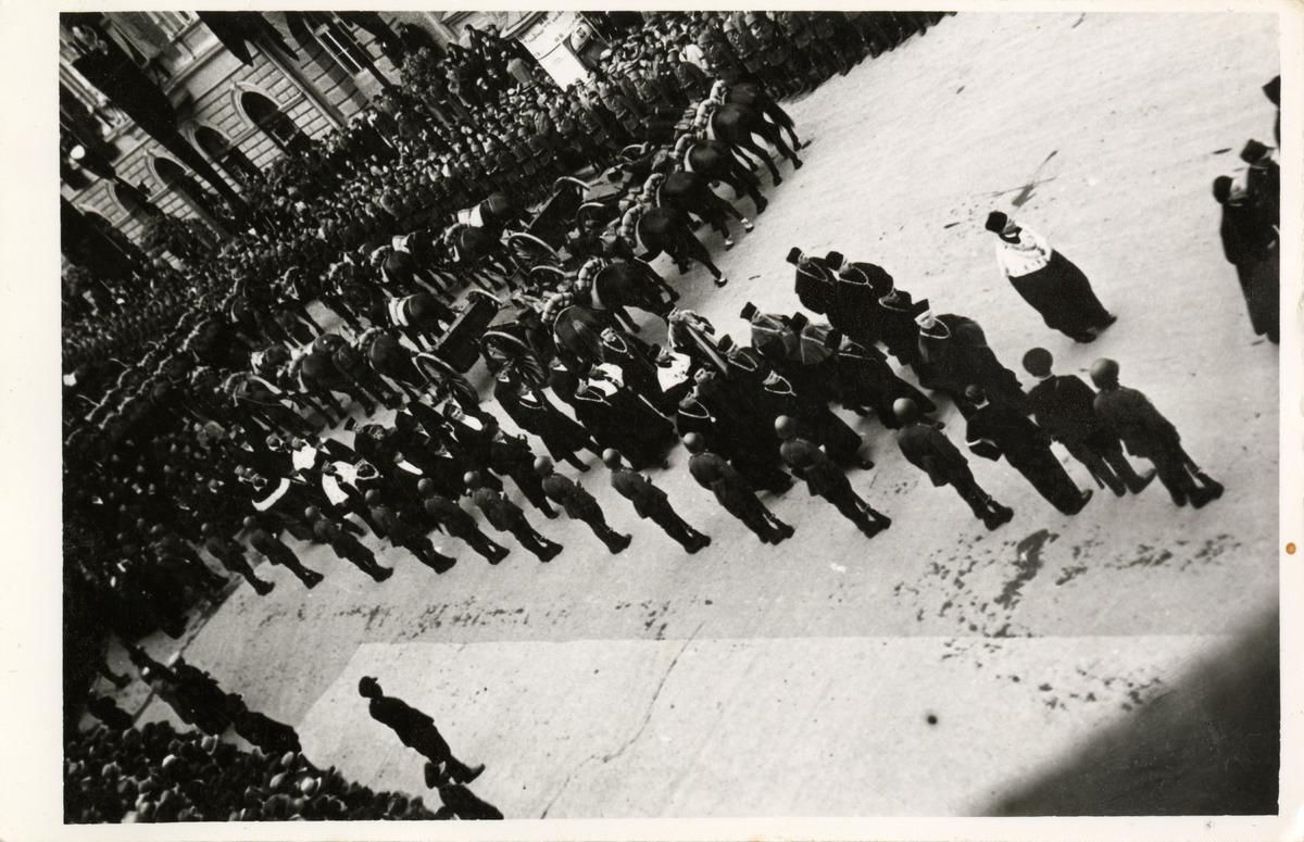 Pogrzeb Józefa Piłsudskiego w Krakowie [1]