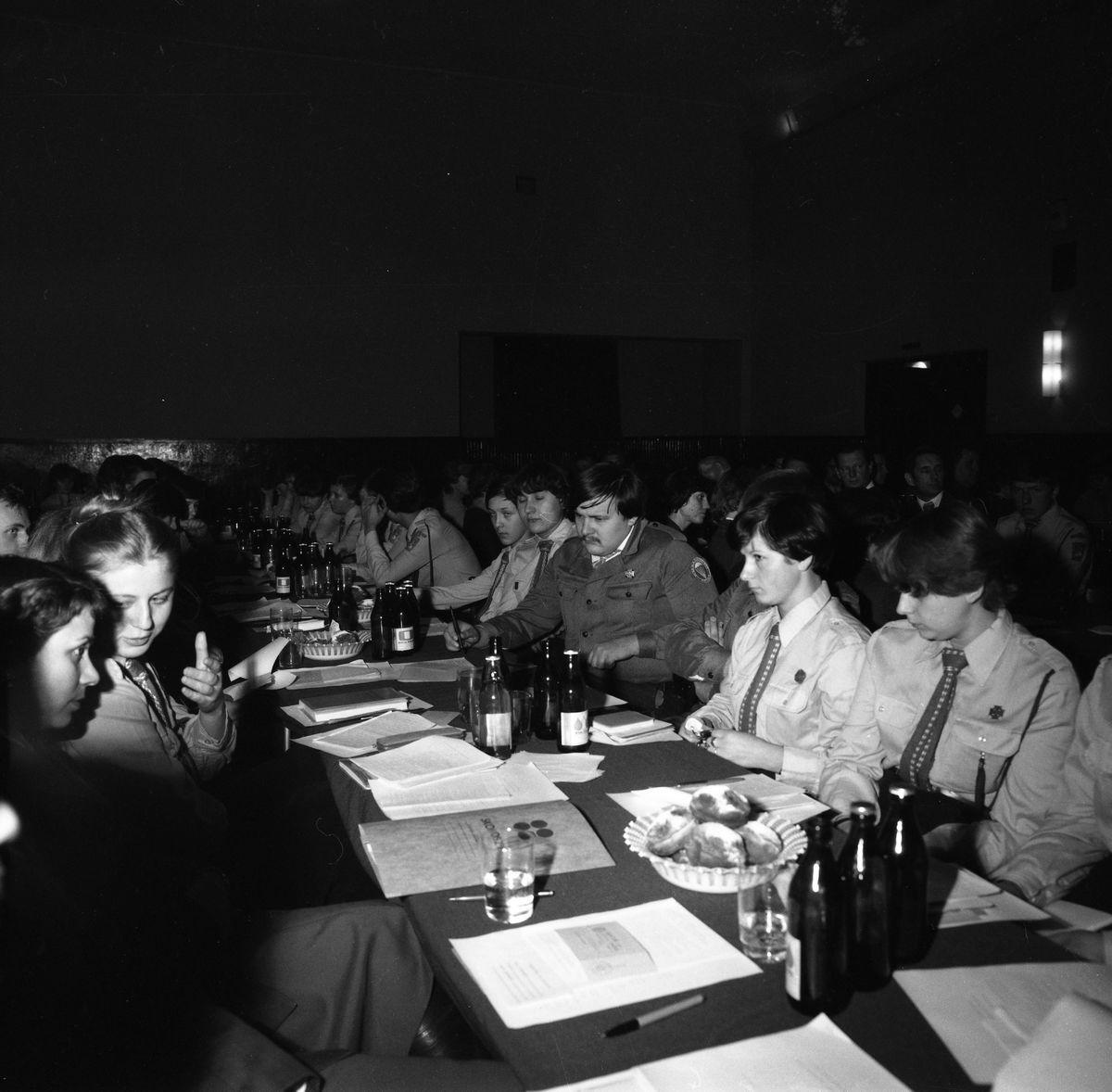 Zebranie sprawozdawczo-wyborcze, 1980 r.