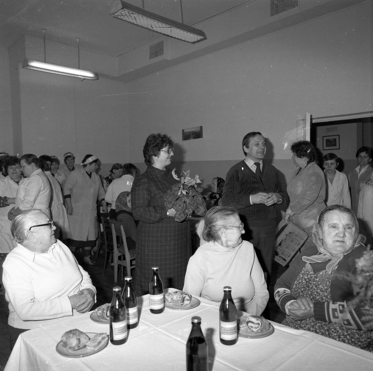 Uroczystość w DPS w Giżycku, 1984 r. [2]