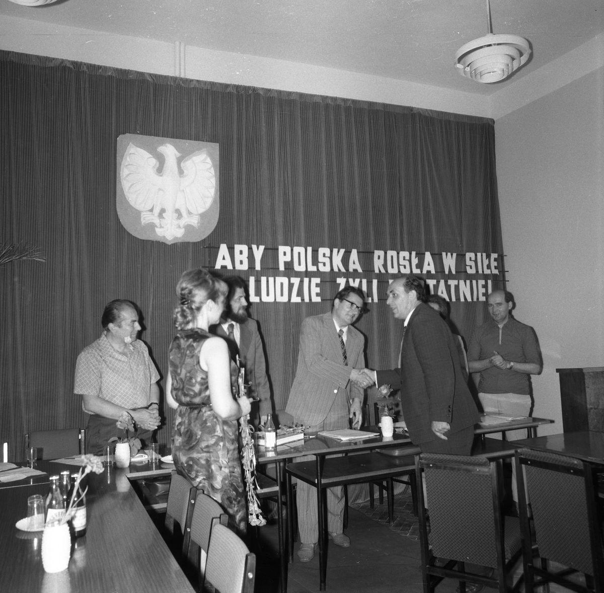 Uroczysta Sesja Miejskiej Rady Narodowej, 1975 r. [2]