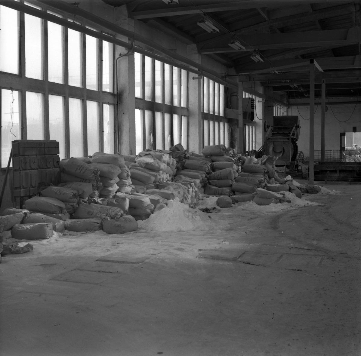 Zakład Produkcji Betonów w Wilkasach, 1975 r.