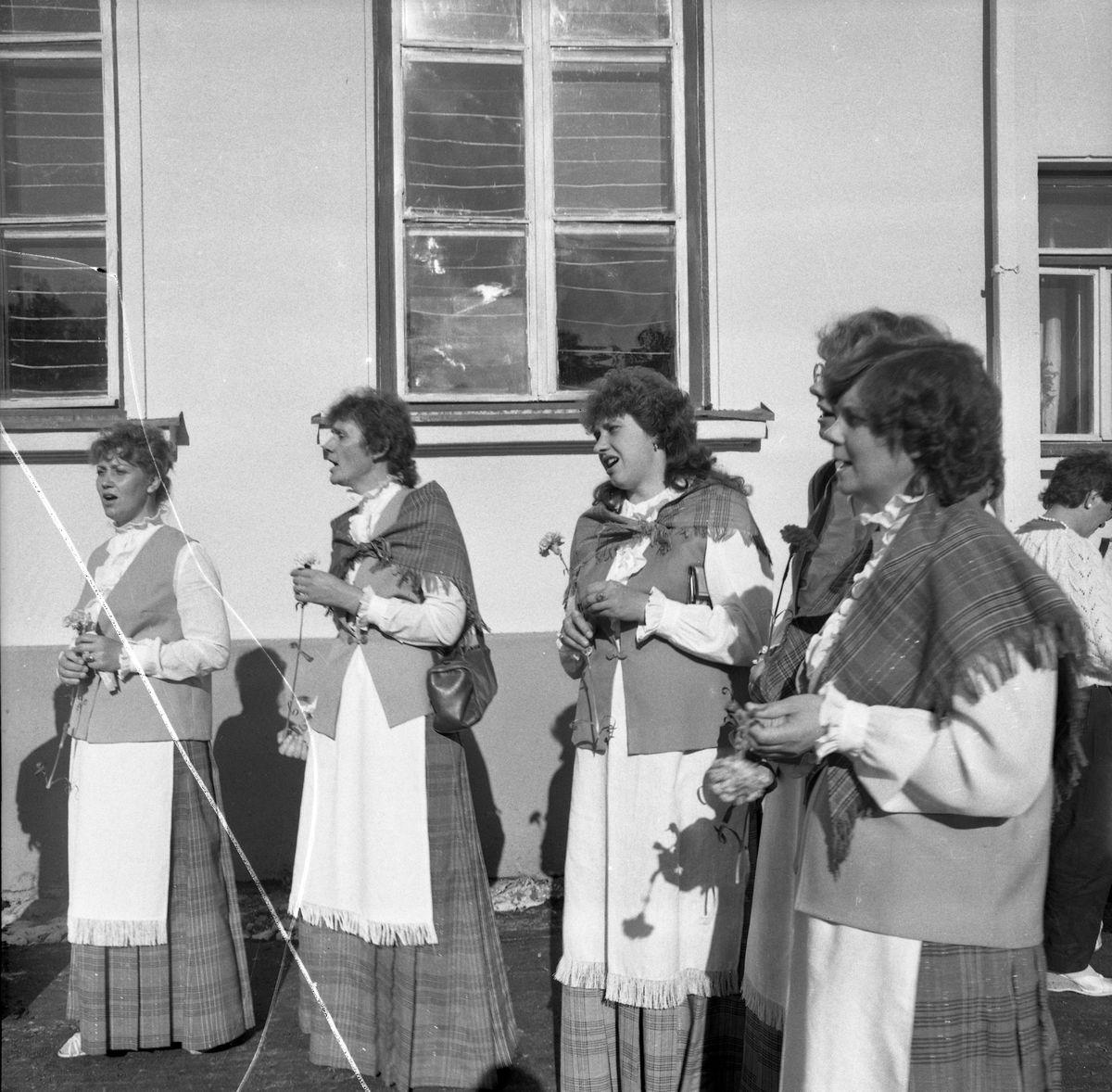 Wizyta delegacji z Giżycka w Trokach, 1987 r. [1]