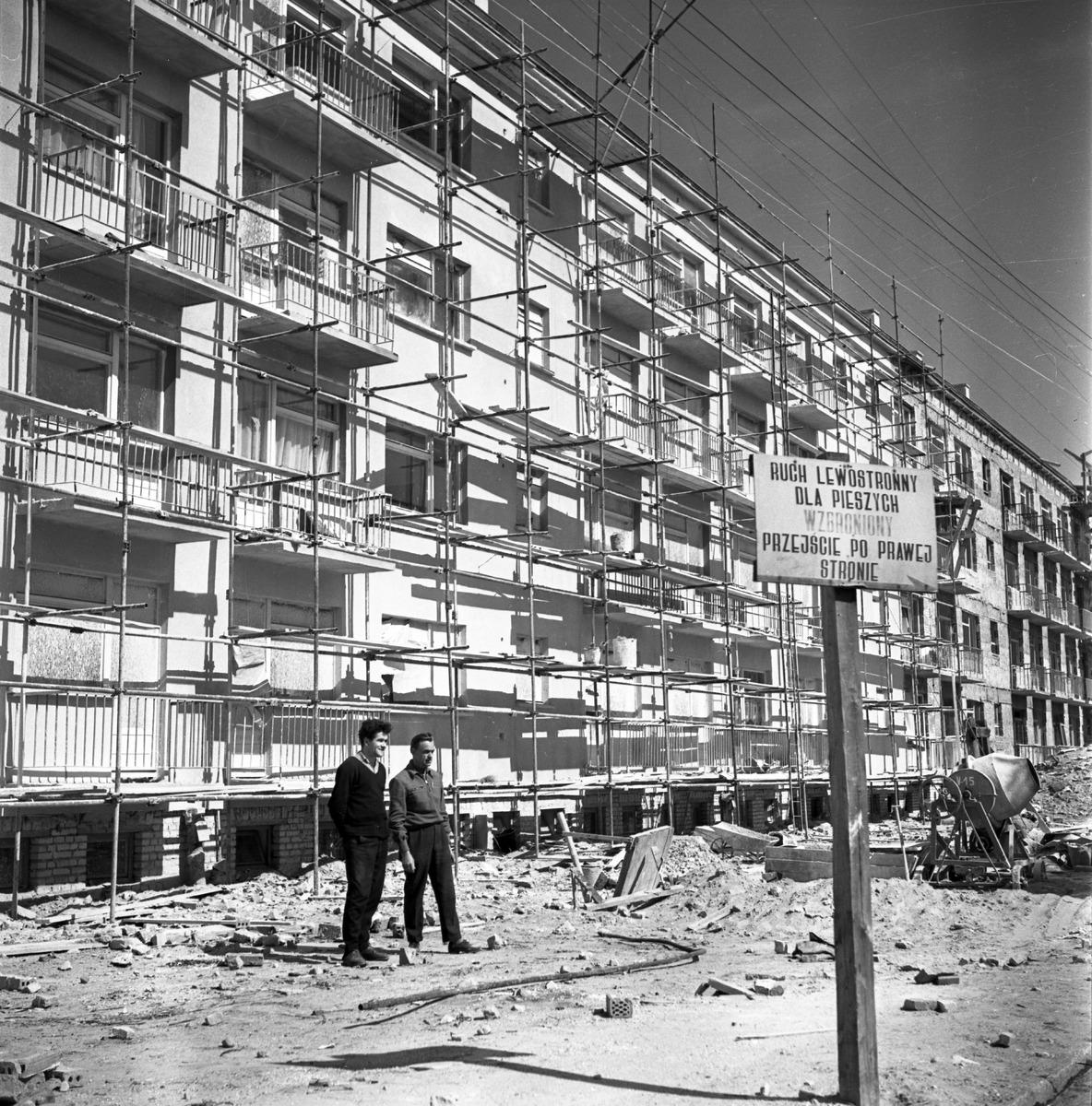 Budowa przy ul. Kościuszki