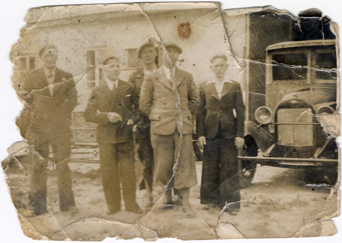 Warsztat samochodowy Michała Zalewskiego w Grodnie