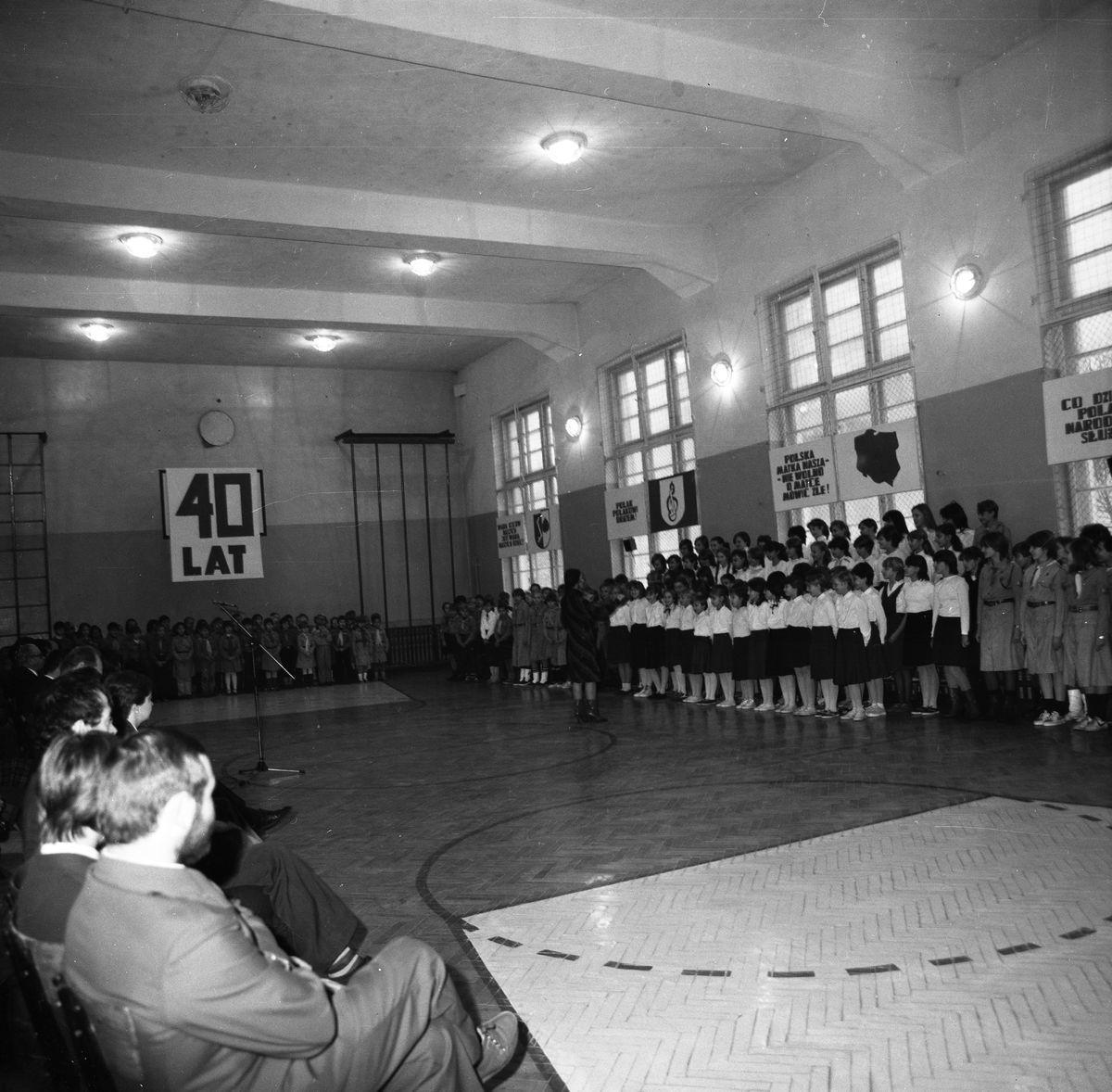 40-lecie Szkoły Podstawowej nr 1, 1985 r.