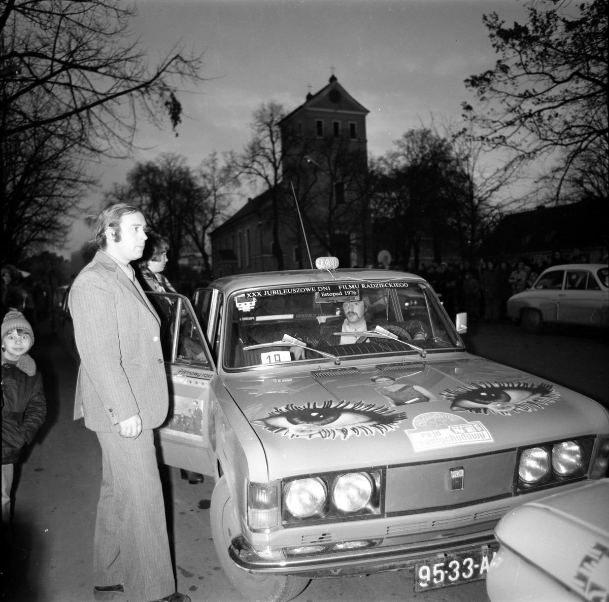 Filmowy Rajd Samochodowy, 1976 r. [5]
