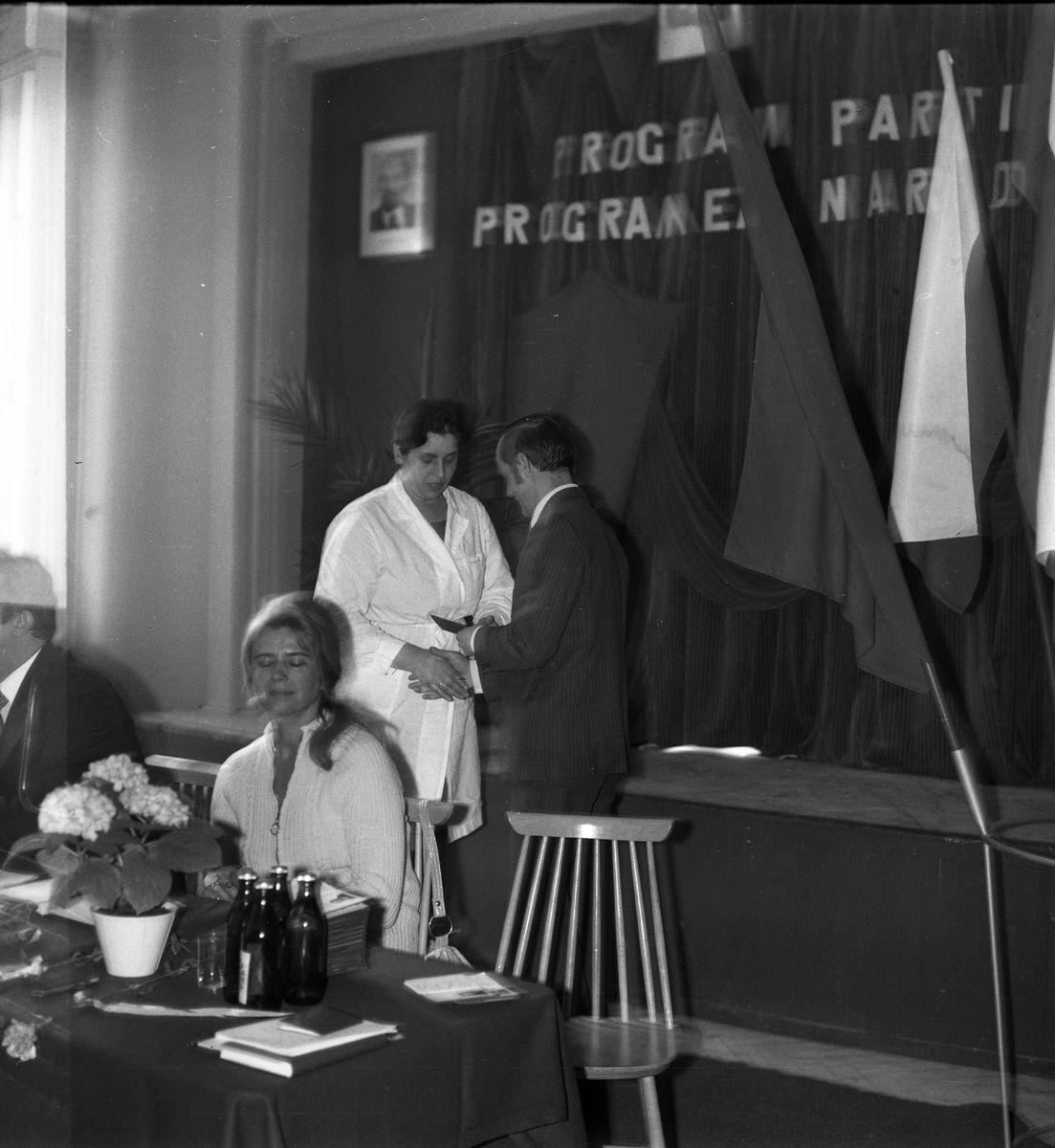Zebranie partyjne PZPR w Zakładach Rybnych, 1975 r. [7]