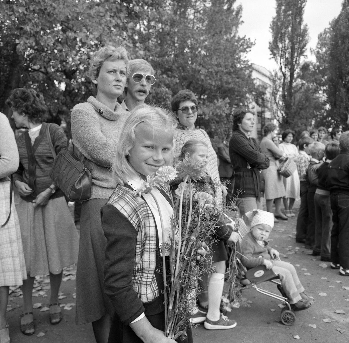 Zakończenie roku szkolnego 1983/1984 w SP1