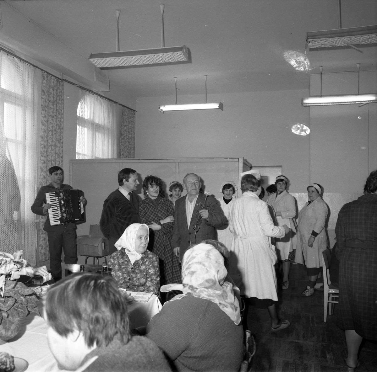 Uroczystość w DPS w Giżycku, 1984 r. [8]