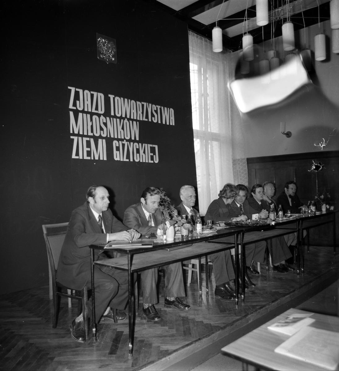 Zjazd Towarzystwa Miłośników Ziemi Giżyckiej, 1976 r.