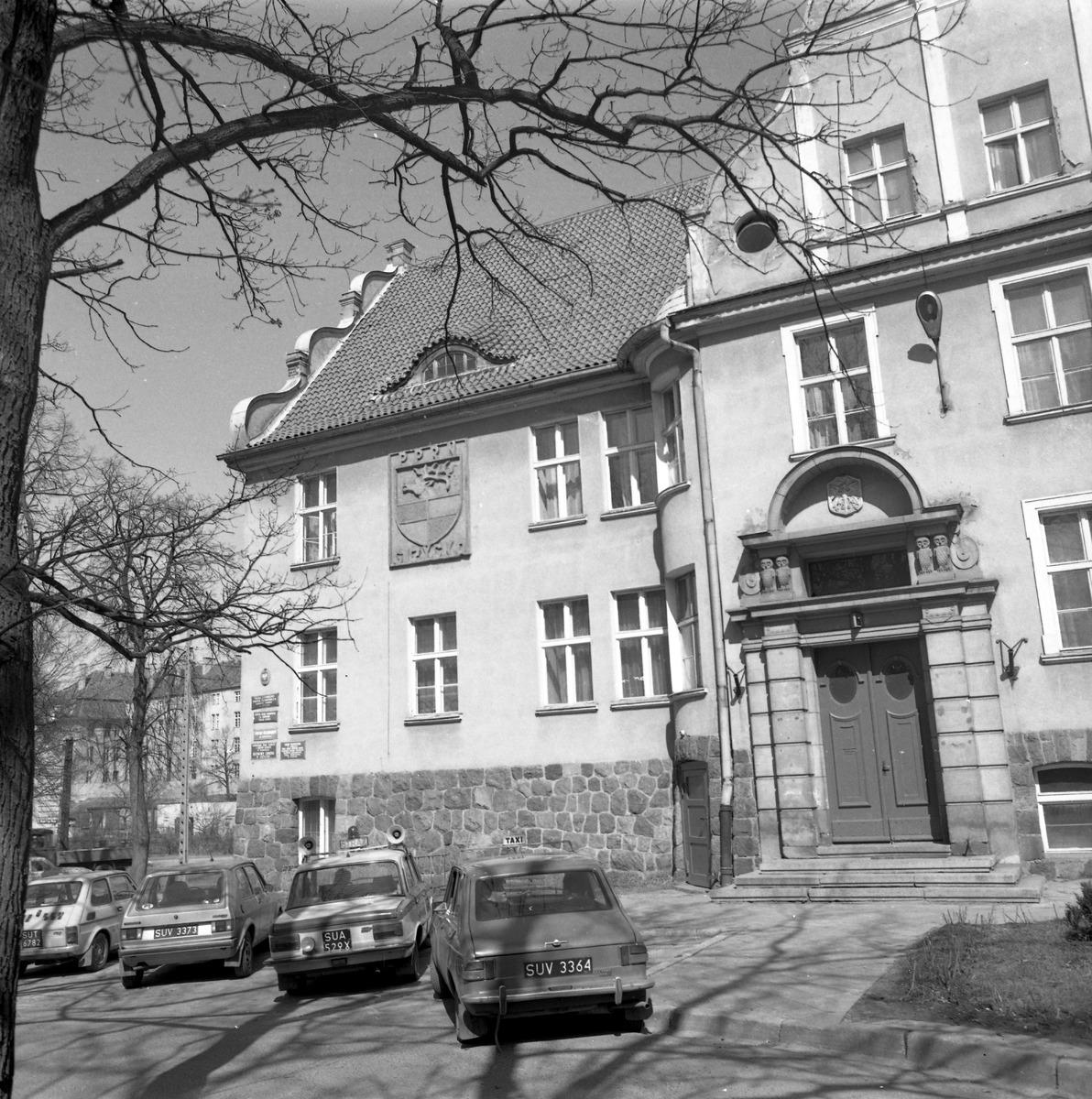 Południowa fasada Urzędu Miejskiego [2]