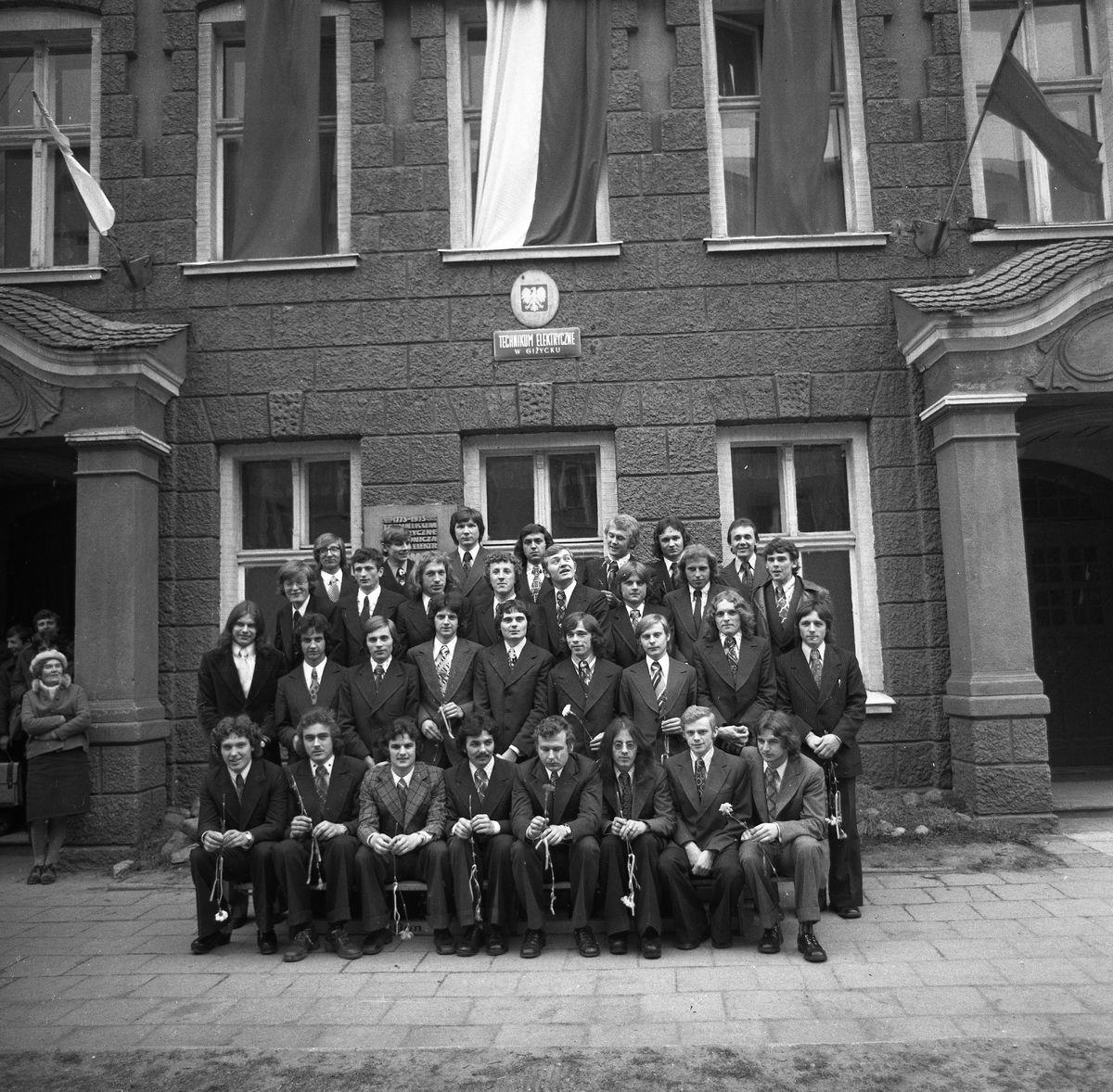 Zdjęcia klasowe, 1976 r.