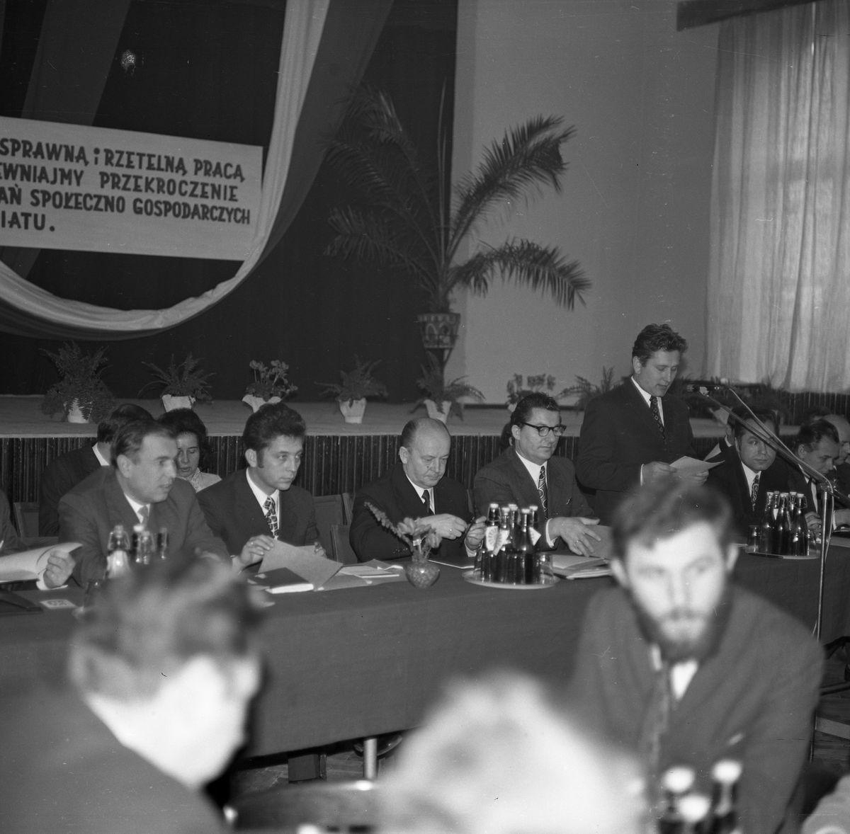 Spotkanie powiatowych struktur PZPR, 1974 r.
