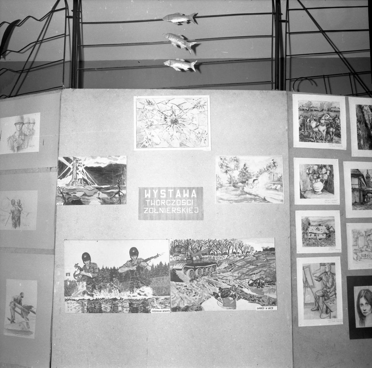 Wystawa twórczości żołnierskiej, 1978 r.