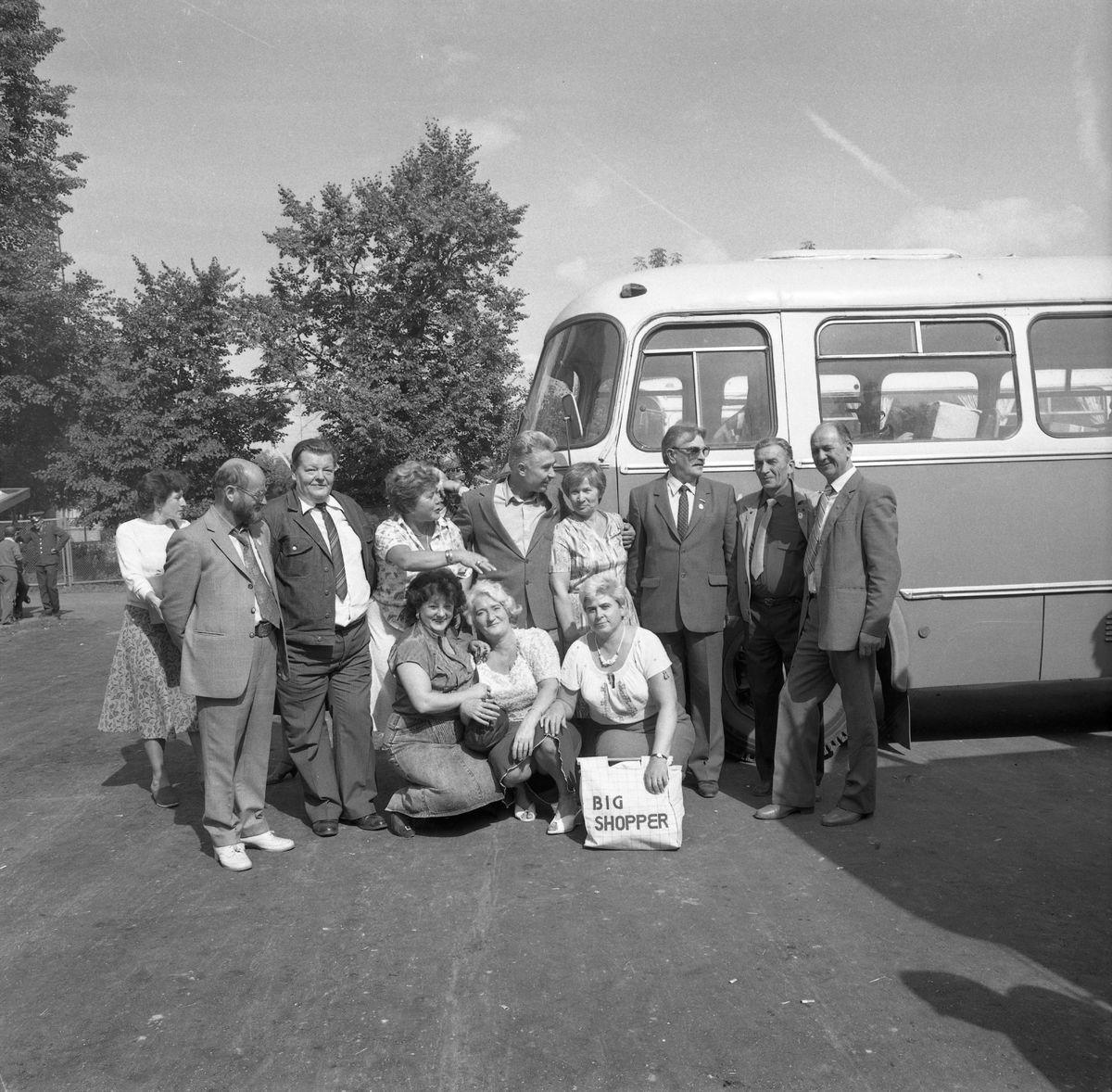 Delegacja z Giżycka na Litwie, 1987 r.
