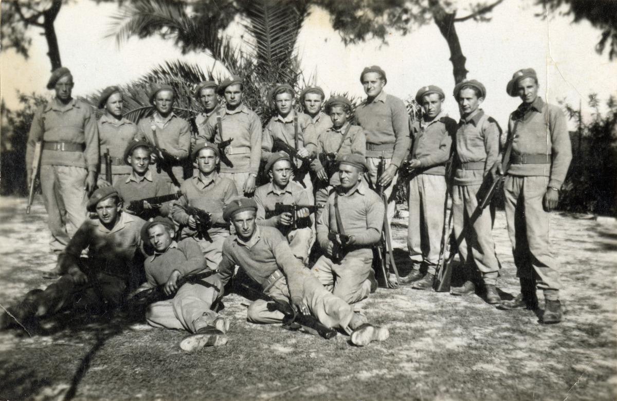 Żołnierze 3. Dywizji Strzelców Karpackich we Włoszech [5]