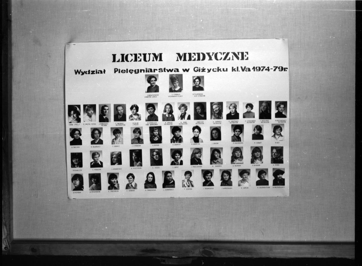 Tablo uczniów liceum medycznego [7]