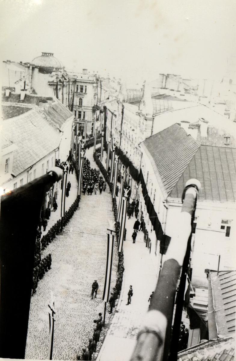 Pogrzeb serca Józefa Piłsudskiego w Wilnie [1]