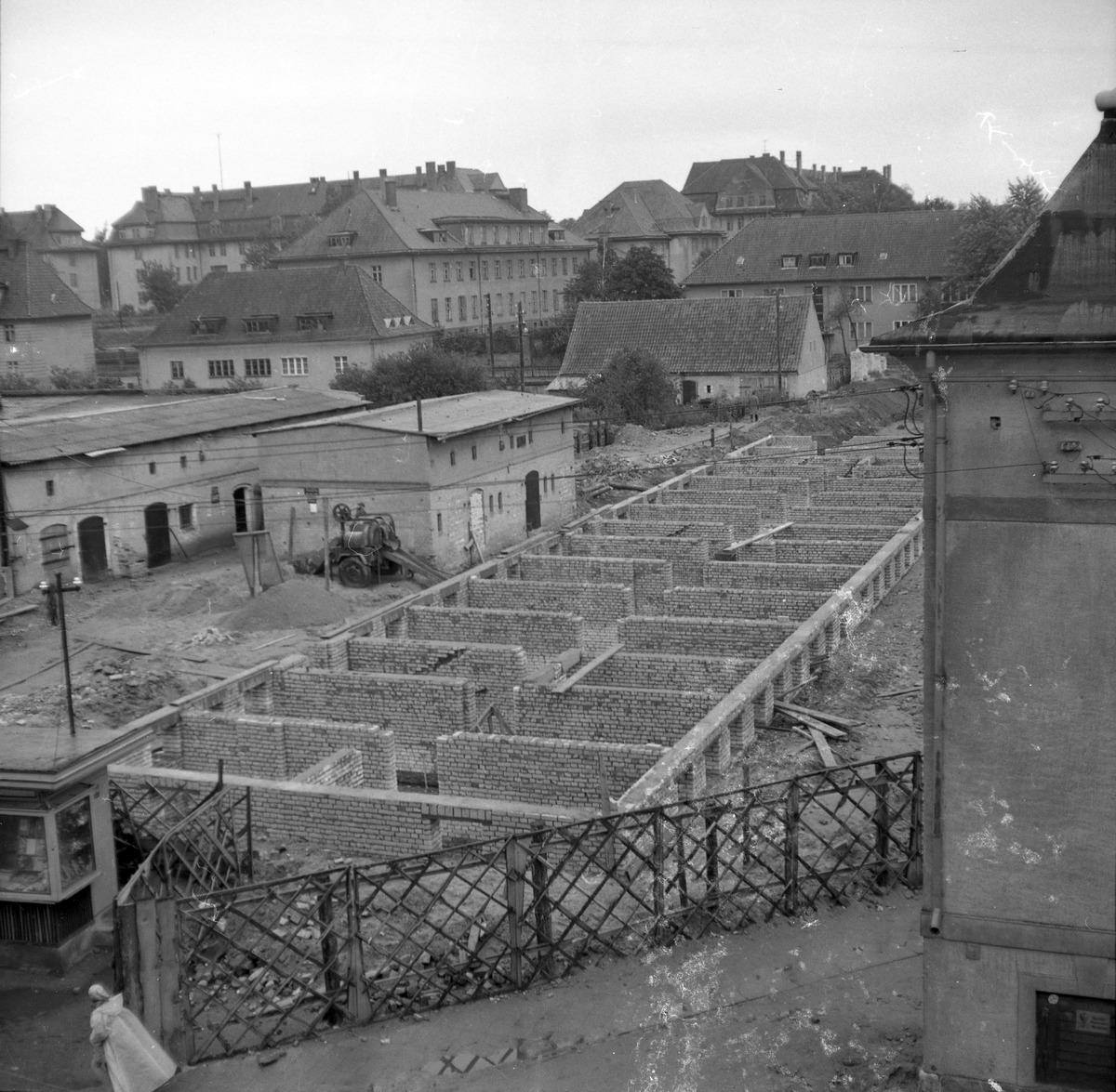 Blok przy ul. Kościuszki w budowie [2]
