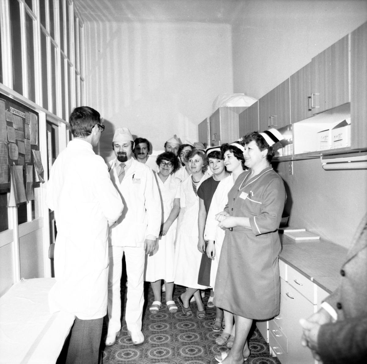 Dzień Służby Zdrowia w szpitalu ZOZ, 1986 r. [5]