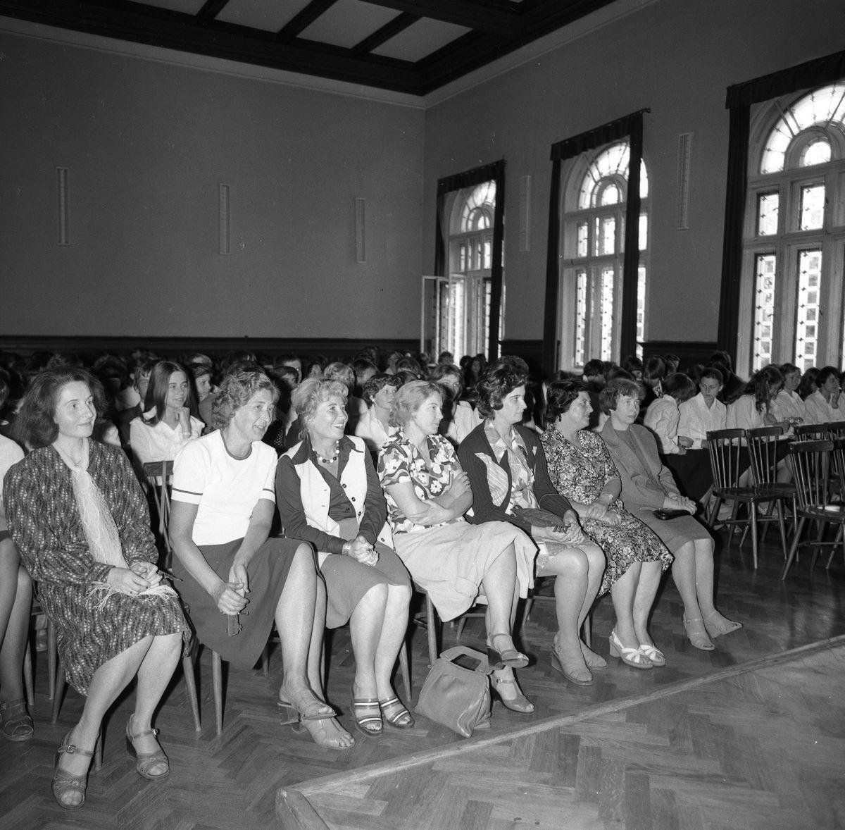 Pożegnanie maturzystów Liceum Ogólnokształcącego, 1978 r.