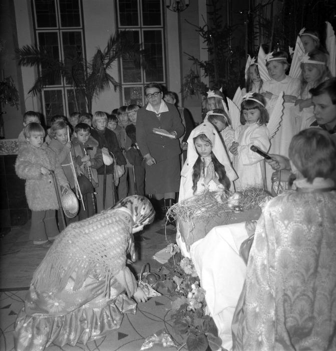 Jasełka w kościele św. Brunona,1977 r. [10]