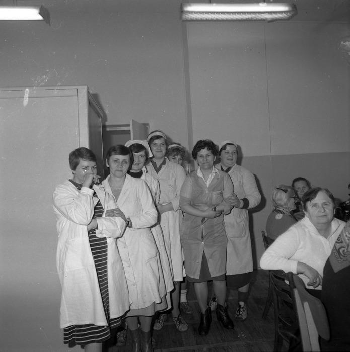 Uroczystość w DPS w Giżycku, 1984 r. [22]