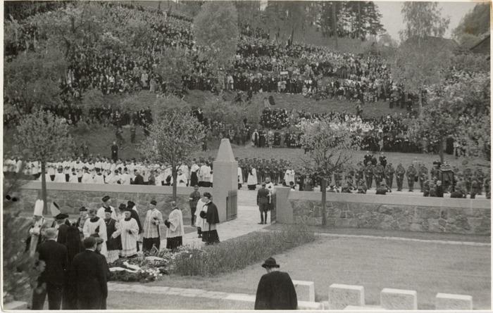 Pogrzeb serca Józefa Piłsudskiego w Wilnie [47]
