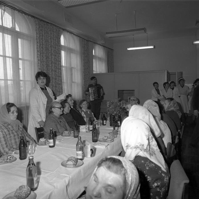 Uroczystość w DPS w Giżycku, 1984 r. [11]