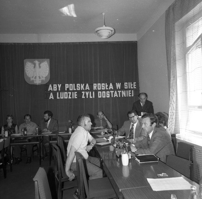 Uroczysta Sesja Miejskiej Rady Narodowej, 1975 r. [10]