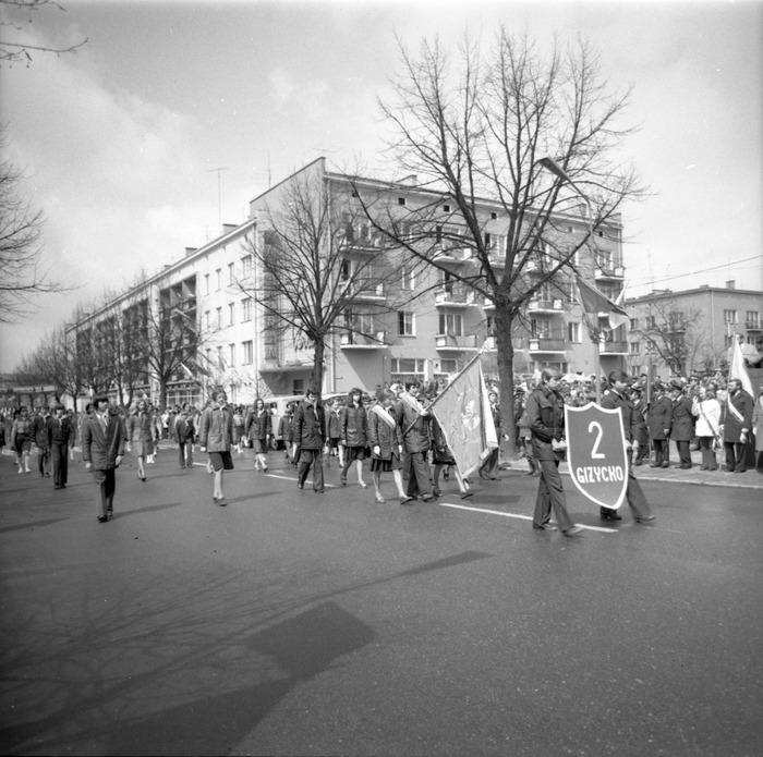 Pochód pierwszomajowy, 1976 r. [18]