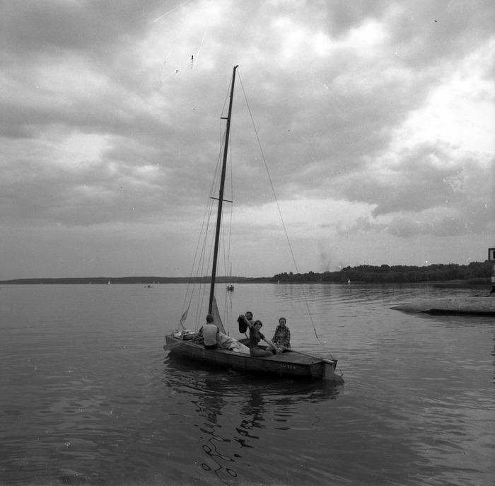 Wypłynięcie na jezioro Niegocin
