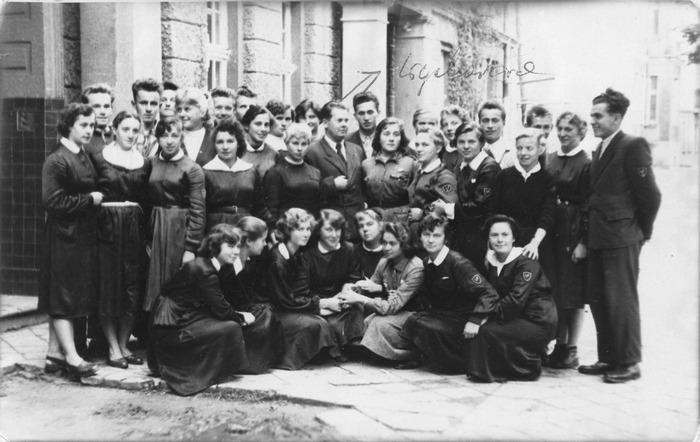 Uczniowie Liceum Pedagogicznego w Giżycku [1]