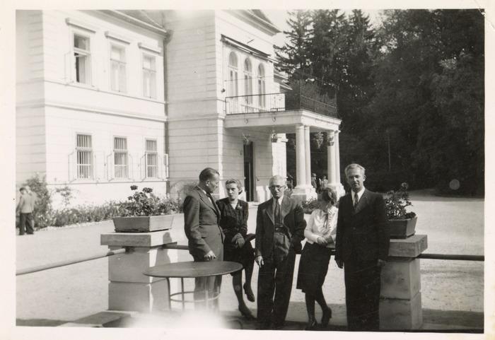 Maria Cichosz podczas internowania na Węgrzech [3]