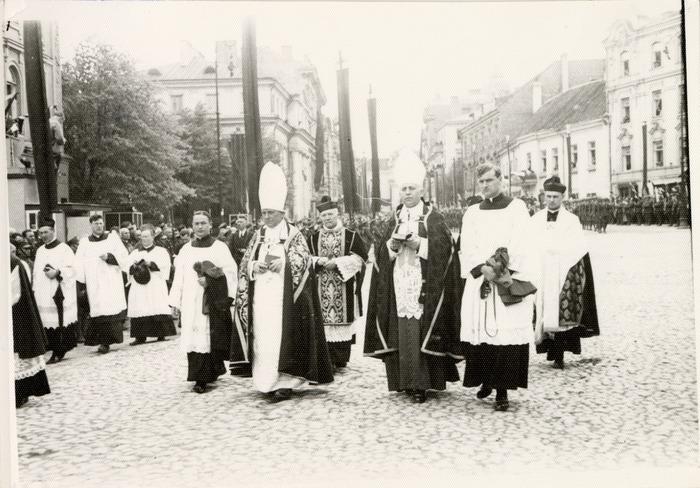 Pogrzeb serca Józefa Piłsudskiego w Wilnie [34]