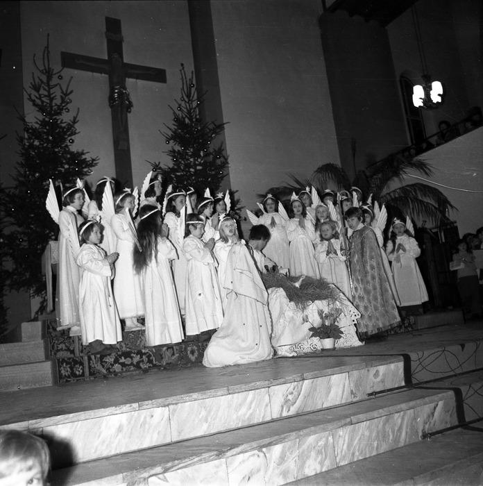 Jasełka w kościele św. Brunona,1978 r. [23]