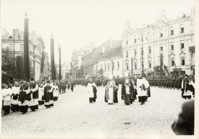 Pogrzeb serca Józefa Piłsudskiego w Wilnie [23]