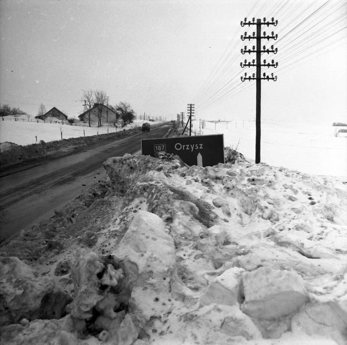 Zima stulecia na mazurskich drogach [7]