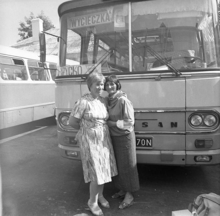 Wizyta delegacji z Giżycka w Trokach, 1987 r. [35]