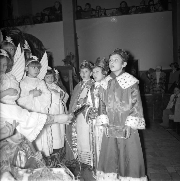 Jasełka w kościele św. Brunona,1977 r. [12]